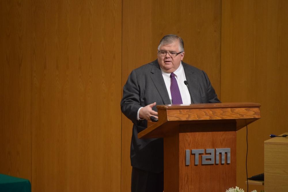 Agustín Carstens, Seminario de Perspectivas Económicas ITAM 2017